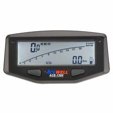 A1500 Digital Speedometer Tacho Speedo with Battery suit Honda XR250 XR250R etc