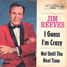 "7"" Jim Reeves – I Guess I'm Crazy // Germany 1964"