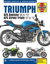 Triumph 675 Daytona Street Triple 2006-16 Haynes Manual