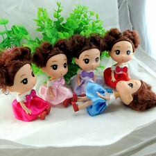 1X Soft Baby Doll Puppet Mini Doll Interactive Children Kids Girls Toys 12cm TS