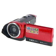 "Red HD 720P 16MP 16X Zoom Digital Video Camcorder DV 2.7"" TFT LCD New"