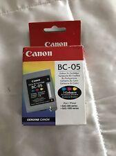 NUOVO Canon BC 05 CARTUCCIA COLORE BJ