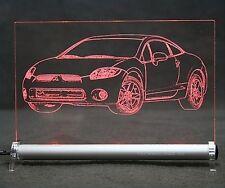 Mitsubishi Eclipse GT G4 AutoGravur auf LED-Schild sign