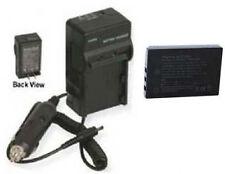 Battery + Charger for Sanyo VPC-TH1BL VPC-TH1EX VPC-TH1GX DMX-FH1 VPC-HD2000GX