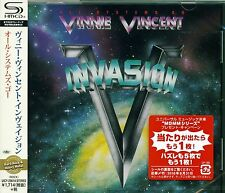 VINNIE VINCENT INVASION ALL SYSTEMS GO 2016 JPN RMST CD - SLAUGHTER - PERFECT!