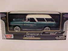1955 Chevy Bel Air Nomad Station Wagon Die-cast Car 1:24 Motormax 8 inch Green