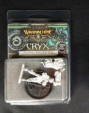Warmachine Brute Thrall Femme Fatale Variant CRYX gencon  LE promo girl