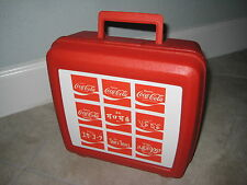Vintage Aladdin Coke Coca Cola Soda Red Languages Lunchbox No Thermos USED