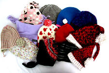 Lot of 13 Winter Hats Beanies George Spyder Old Navy Columbia Buster Brown Hakka