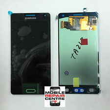 GENUINE 100% SAMSUNG SM-A500F GALAXY A5 SCREEN AMOLED HD LCD SCREEN BLACK
