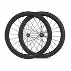 23mm Width Carbon Road Bike Wheels 700C 60mm Depth Clincher Bicycle Wheelset