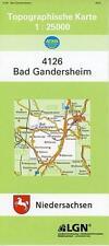 BAD GANDERSHEIM 1 : 25 000. (TK 4126/N)