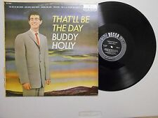 Buddy Holly ROCK-A-BILLY LP (DECCA DL 8707) That'll Be The Day VG+ HI-FI CANADA