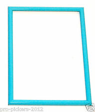9x12 Aqua Teal Blue Green Thin Mold Picture Photo Frame Stock Crating Projects