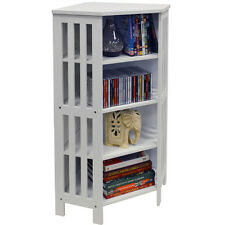 MISSION - Full Corner CD DVD Storage Cabinet - White 2281oc