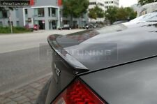 Mercedes Benz CLS W219 rear door Sport trunk spoiler lip wing AMG Brabus cover