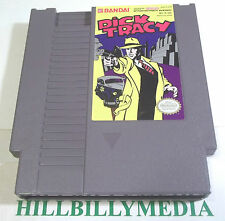 Dick Tracy (Nintendo) 1990 Bandai NES action video game FREE SHIPPING