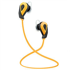 YellowWireless Bluetooth Headphones In-Ear Surround Sound Sports Earphones