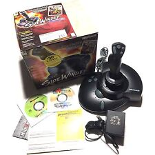 MICROSOFT SIDEWINDER FORCE FEEDBACK PRO FLIGHT STICK CONTROLLER *COMPLETE*