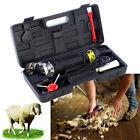 320W Elektrische Schafe Schermaschine Schafschermaschine Sheep Clipper EU Plug