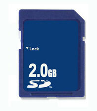 10 x 2GB SD Memory Card Standard Secure Digital Generic New W/Cases
