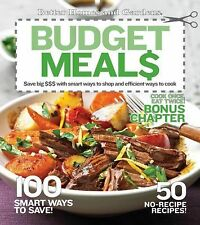 BETTER HOMES & GARDENS BUDGET MEALS RECIPE BOOK 100 Ways to Save