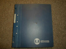 1994- Saab 900 Electrical Instruments System Wiring Diagram  Service Manual OEM