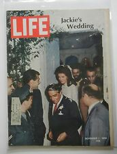 Life Magazine November 1, 1968 - Jackie's Wedding