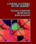 Linear Algebra with Maple(r)-ExLibrary