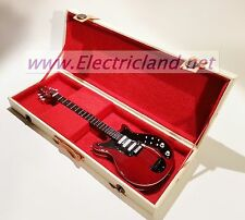 Mini Guitar EXCLUSIVE - Queen Brian May red spec  memorabilia chitarra miniature