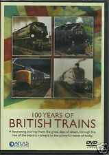 "100 Years of British Trains DVD ""BRAND NEW & SHRINK WRAPPED"" L@@K AT PHOTOS!"