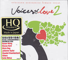Voices of Love Vol.2 Japan HQCD Audiophile CD Stacey Kent Susan Wong Olivia Ong