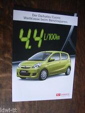 Daihatsu Cuore / Cuore SX Prospekt / Brochure / Depliant, CH, 5.2009