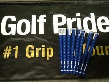 8 Brand New Golf Pride Tour Wrap 2G Blue Standard Size $39.92 Shipped!!!!