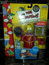 THE SIMPSONS of Springfield INTERACTIVE World Figura STONECUTTER Homer serie 10