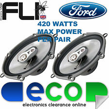 "Mazda MX5 Xedos 94-98 FLI 6""x8"" 420 Watts 3 Way Replacement Door Speakers"