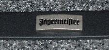Jagermeister Leather Band Strap Bracelet Snap Adjustable Old School Rare