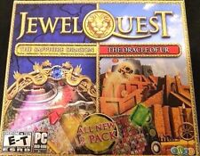 Jewel Quest 2 Game Pack The Sapphire Dragon & The Oracle Of Ur PC Games Windows