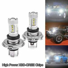 1pc White 80W H4 9003 HB2 CREE LED Fog Light Bulb 1500LM High Low Beam Headlight