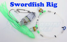 Swordfish Rig - Deep Drop Sword fishing. includes 3 LED lights. Circle Hook