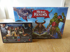 Hero Realms Deck Building Game + Promo Card Pack! (White Wizard Games)