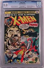 **X-MEN #94 CGC 9.0**(AUG 1975, MARVEL)**BRONZE AGE MEGA KEY**1ST NEW TEAM**HOT!
