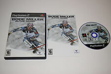 Bode Miller Alpine Skiing Sony Playstation 2 PS2 Game Complete Tested