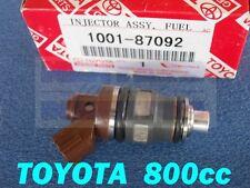 TOYOTA 800cc 1001-87092 Fuel Injector Supra 2JZGTE 2JZ 840 SARD 63564 80lb Denso