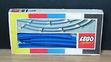 LEGO 151 - CLASSIC 1966 - Train Curved Track  - COMPLETE VINTAGE RARE BOXED