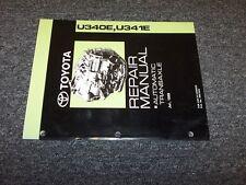 2003 2004 2005 Toyota Echo U340E Transmission Shop Service Repair Manual Book
