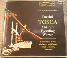 "Album By Milanov, etal, ""Puccini: Tosca"" on Rca Victor"