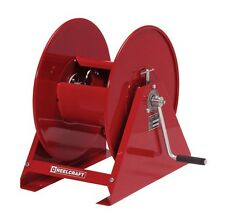 "REELCRAFT H18006 M Pressure Cleaning Hose Reel for 3/8"" X 100' - Hand Crank"