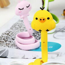 Kawaii Cartoon Animal Cable Winder Headphone Earphone Organizer Wire Holder CAFM
