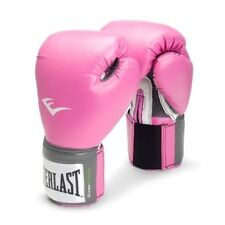 Everlast Pro Style 12OZ Womens Pink Trainning Gloves MMA